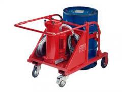 LUCB-100带油筒便移式滤油机